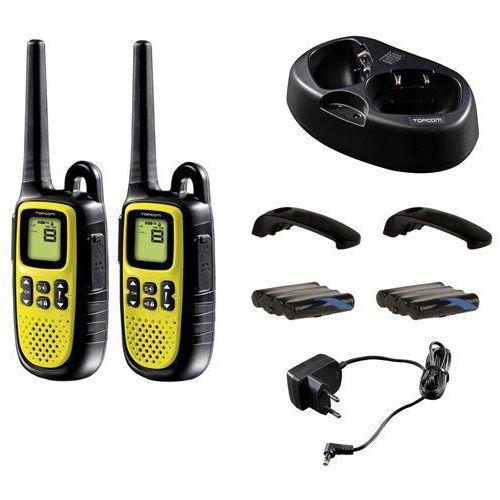 Topcom PMR Twintalker 5400 urządzenie do 10 km zasięg radiowy i oświetlone LC wyświetlacz, RC-6403