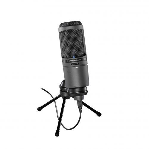 Audio Technica AT-2020 USBi mikrofon pojemnościowy USB, iPhone, iPad