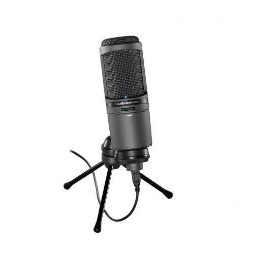 Audio Technica AT-2020 USBi mikrofon pojemnościowy USB, iPhone, iPad - sprawdź w wybranym sklepie