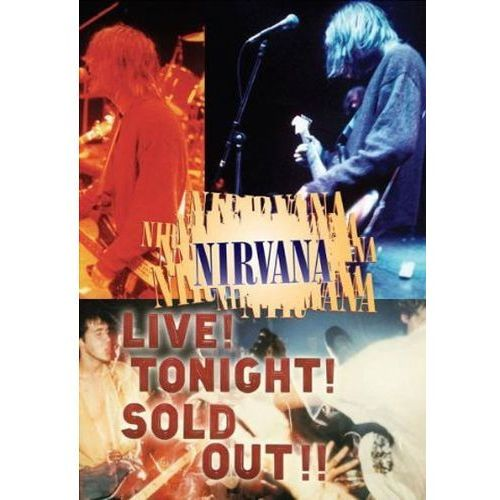Nirvana - LIVE! TONIGHT! SOLD OUT! (muzyczne DVD)