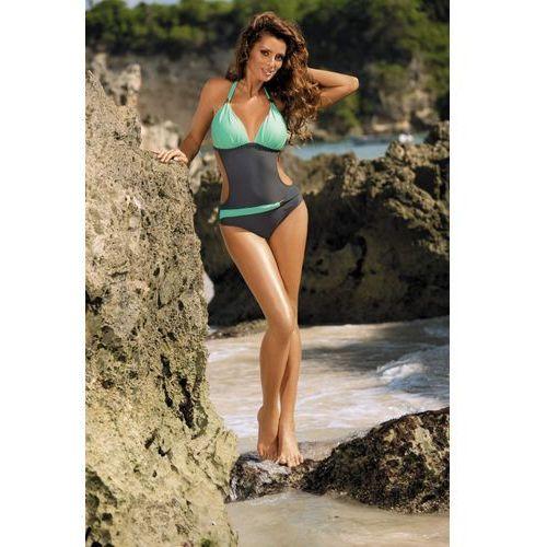 Kostium Kąpielowy Model Beatrix Titanium-Seafoam Glow M-337 Grey/Mint