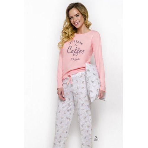 Piżama damska model maja 2226 aw/18 k2 pink marki Taro