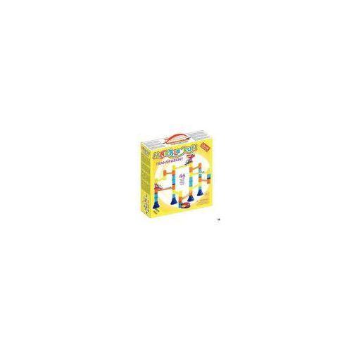 Marble Run Transparent Basic, 45sztuk - Quercetti
