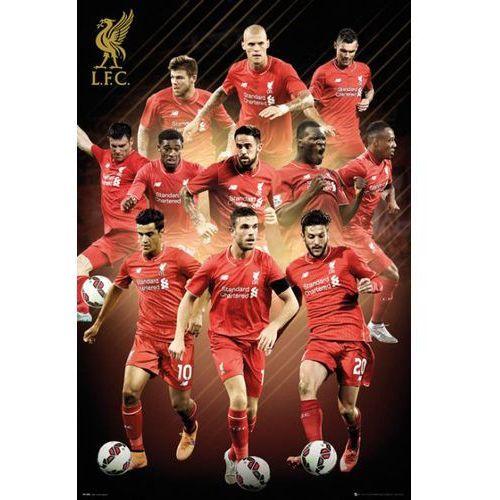 FC Liverpool Zawodnicy 2015/2016 - plakat