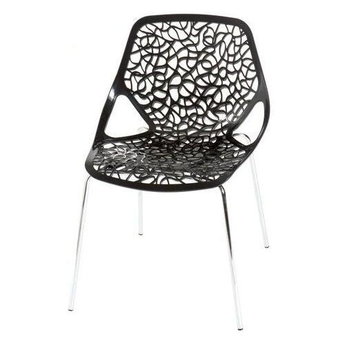 Krzesło Cepelia inspirowane projektem Caprice - czarny, D2-4681