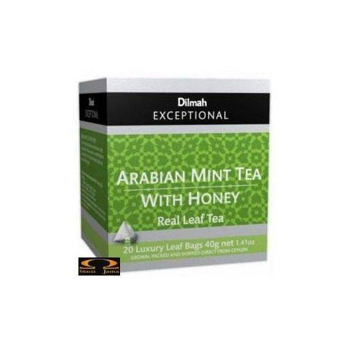 Dilmah Herbata arabian mint tea with honey miętowa i miodowa 20 torebek (9312631140392)