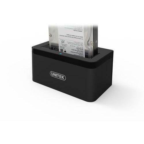 Stacja dokująca dla dysku twardego Unitek 3.5cala HDD/SSD USB 3.1 (Y-3605) Darmowy odbiór w 21 miastach!, Y-3605