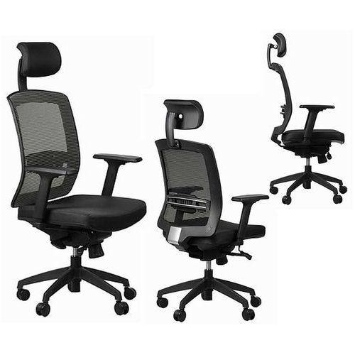 SitPlus Fotel ergonomiczny ERGON, podparcie lędźwiowe, wysuw siedziska. Okazja!!!, SitPlus