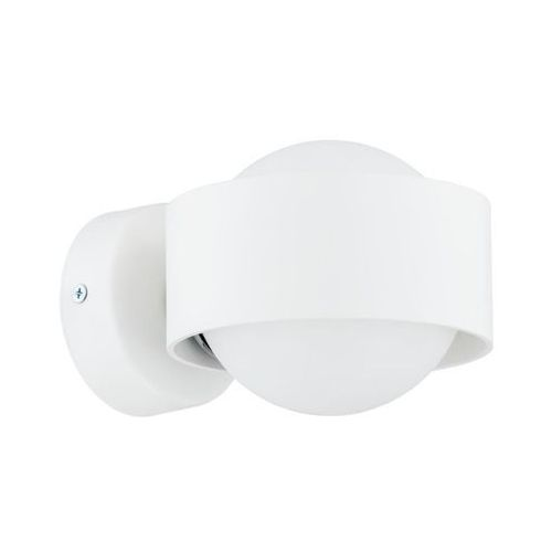 Kinkiet łazienkowy LED MASSIMO IP44 biały PREZENT (5902553208887)