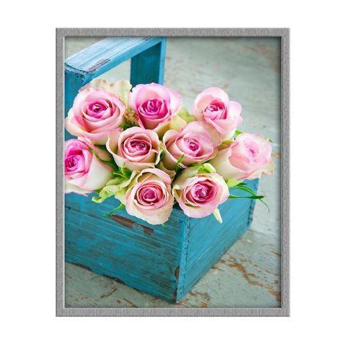 Knor Obraz roze w koszu 40 x 50 cm (5901554505216)