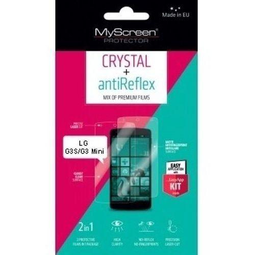 Myscreen Folia ochronna protector crystal+antireflex do lg g3s/g3 mini