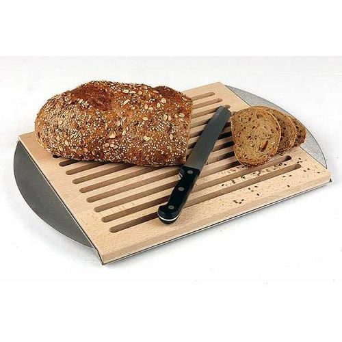 Deska do krojenia pieczywa z szufladą na okruchy | 480x320x20 mm marki Aps