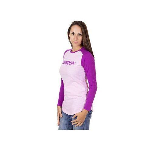 Bluza Reebok Logo Tee Z25495 - Różowy (25495085)