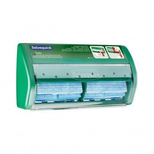 Dyspenzer na plastry Salvequick Blue Detectable - plastry wykrywalne, 490750