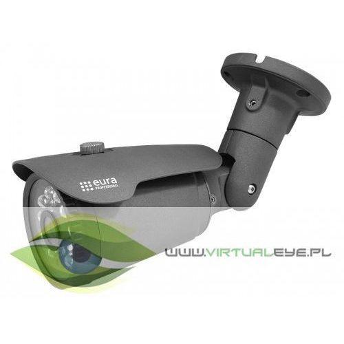 "KAMERA IP BULLET ""EURA PROFESSIONAL"" CBA-42C5 zew. 2,0 Mpx 1080P full HD 1/2,7"" CMOS, C53D442"