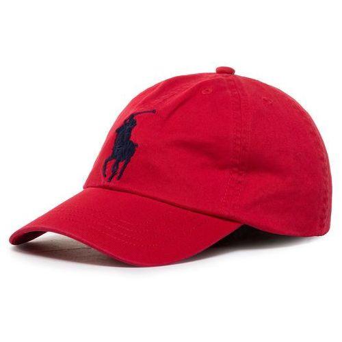 Czapka z daszkiem POLO RALPH LAUREN - Big Pp Cap 323785654004 Red 600, kolor czerwony
