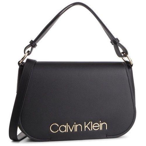 e929df715dadc Torebka CALVIN KLEIN - Dressed Up Satchel K60K605373 001, kolor czarny