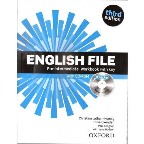 English File 3E Pre-Int WB With Key OXFORD - Praca zbiorowa (96 str.)