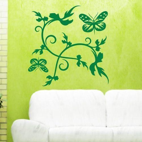 Motyle 1220 szablon malarski marki Deco-strefa – dekoracje w dobrym stylu
