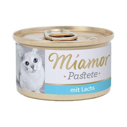MIAMOR Katzenzarte Fleischpastete - pasztet mięsny smak: łosoś 12x85g (42017028)