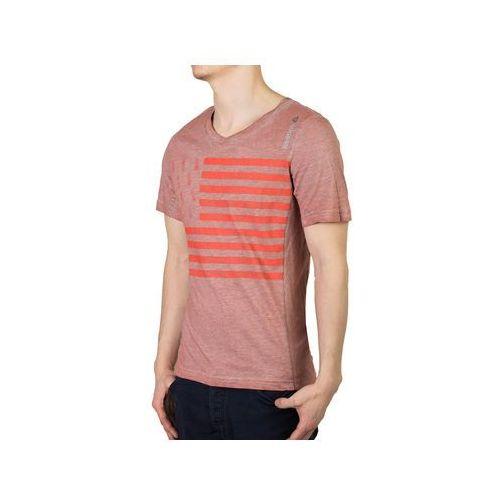 T-shirt Reebok Yoga Graphic Tee B89935 - Pomarańczowy, kolor pomarańczowy