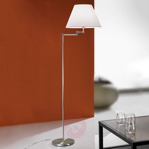 Niezwykła lampa stojąca ria matowy nikiel marki Orion