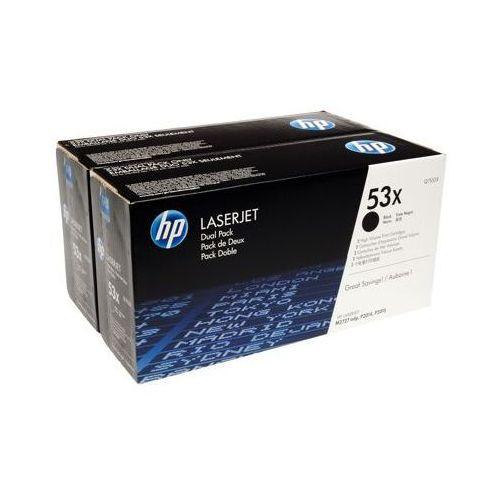 Tonery Oryginalne HP 53X (Q7553XD) (Czarne) (dwupak) - DARMOWA DOSTAWA w 24h - produkt z kategorii- Tonery i bębny