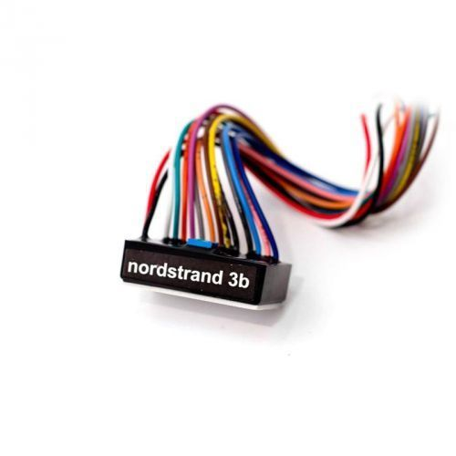 Nordstrand 3B 4B- 3 Band Preamp + Volume Stacked + Blend + Mid (Pull Freq. Switch) + Treble-Bass Stacked przetwornik do gitary