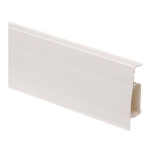 Listwa przypodłogowa pcv hi-line 2 5 m biały połysk marki Cezar