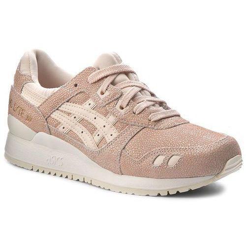 Sneakersy - tiger gel-lyte iii hl7e5 vanilla cream/vanilla cream 0202 marki Asics