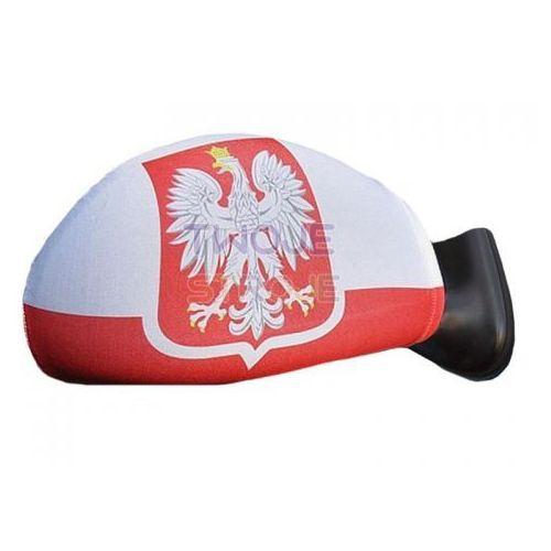 FLAGI NA LUSTERKA KIBICA BIAŁO-CZERWONE 2 szt. (5901238642763)