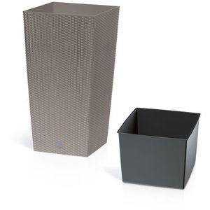 Donica rato square drts200 mocca + zamów z dostawą jutro! marki Prosperplast