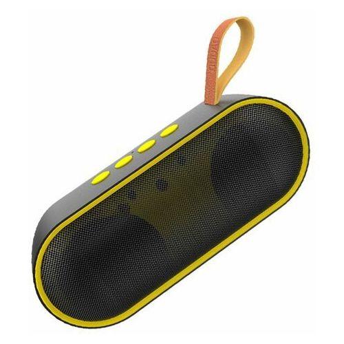 Dudao przenośny bezprzewodowy głośnik Bluetooth żółty (Y9 yellow) - Żółty (6970379617717)