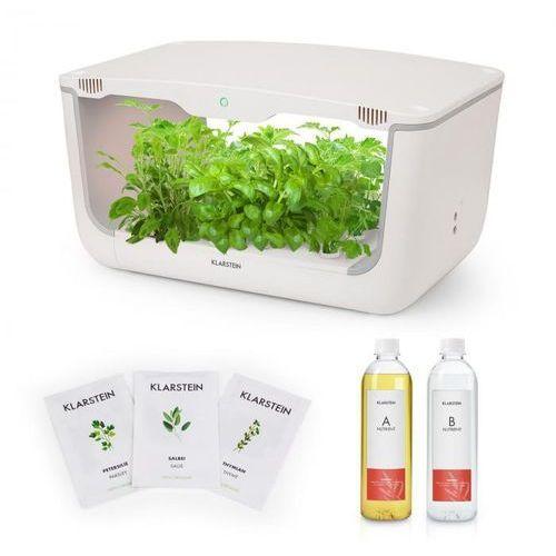 Klarstein growlt farm starter kit ii 28 roślin 48 w 8 l zestaw nasion europejskich pożywka