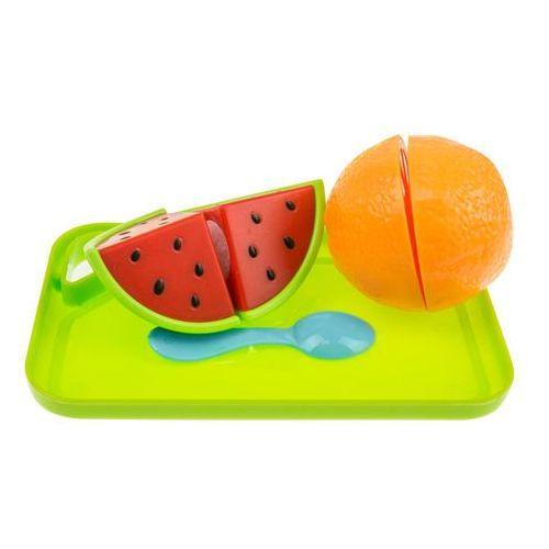 Kolorowy koszyk z warzywami do krojenia + kuchenka piknik 666-48 marki Kindersafe