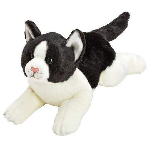 Suki czarno-biały kot 35 cm