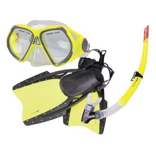 Spokey Płetwy+maska+fajka reef