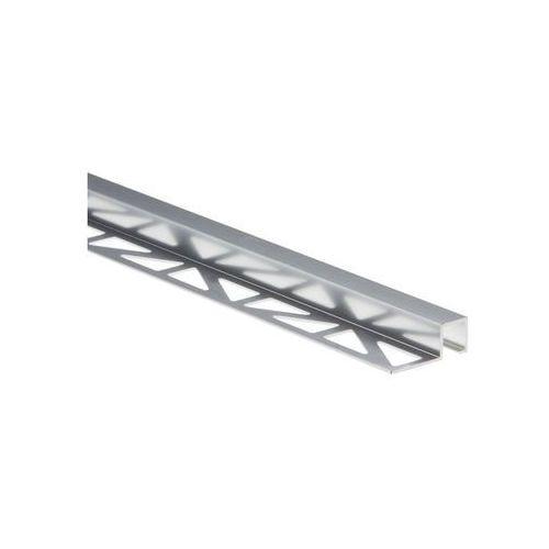 Profil wykończeniowy ZEWNĘTRZNY KWADRATOWY aluminium EASY LINE (5904584889554)