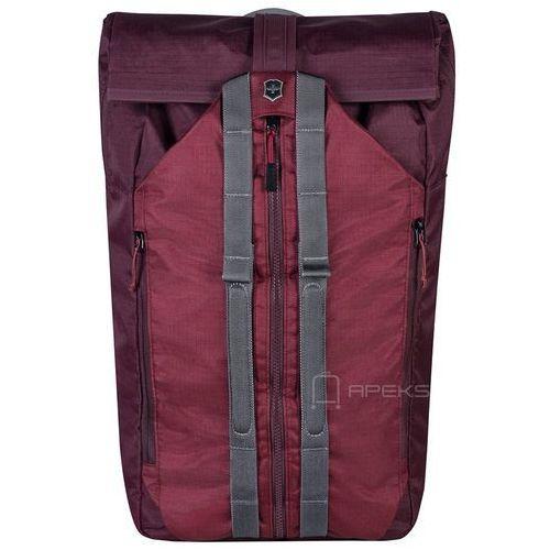 "Victorinox altmont active deluxe duffel plecak na laptop 15,4"" / bordowy - burgundy (7613329045183)"