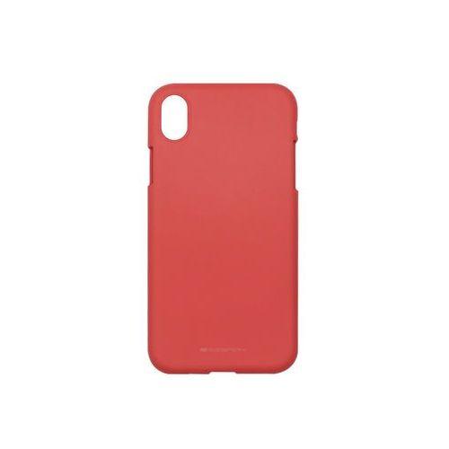 Apple iPhone XR - Mercury Goospery Soft Feeling - czerwony