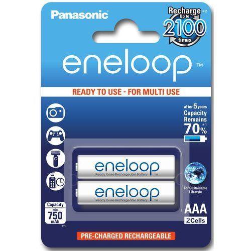 Akumulator PANASONIC Eneloop R03 AAA 800mAh 2szt. (5410853052678)