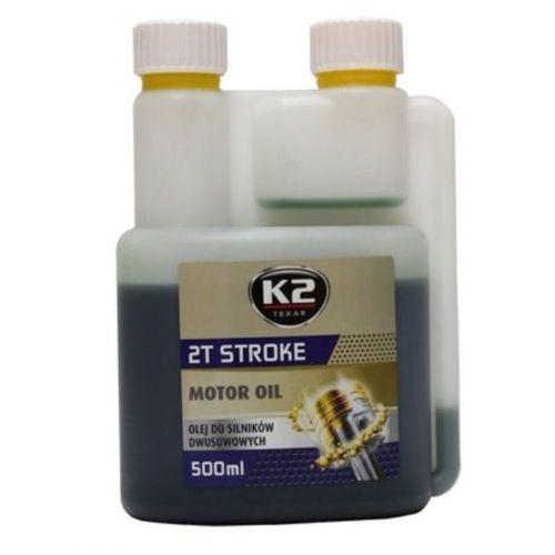 Olej do maszyn ogrodowych K2 2T Stroke 500 ml (zielony)