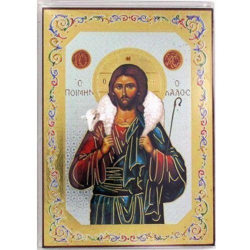 Ikona Pan Jezus Dobry Pasterz 10x14 cm - produkt z kategorii- Dewocjonalia