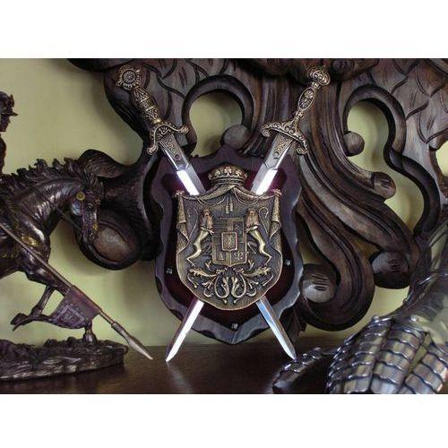 Hiszpania Wspaniała rodowa panoplia rycerska (k596-fb)