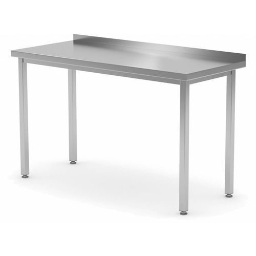Polgast Stół przyścienny bez półki | szer: 400-1900mm|gł. 600 mm
