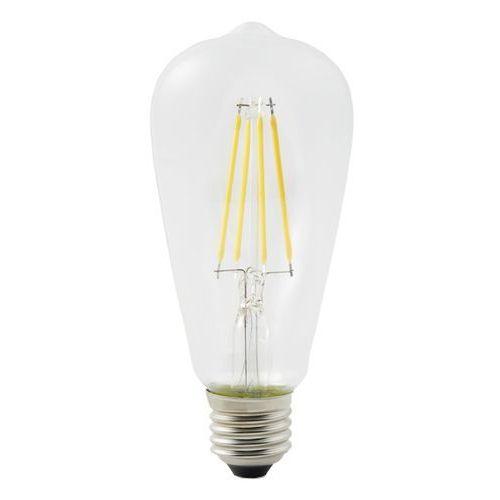 Żarówka dekoracyjna LED Diall ST64 E27 6,5 W 806 lm przezroczysta barwa ciepła