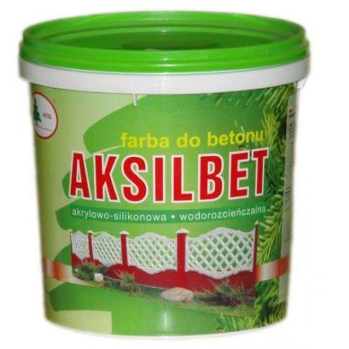 Farba do betonu Aksilbet – ceglasty 3l., kolor pomarańczowy