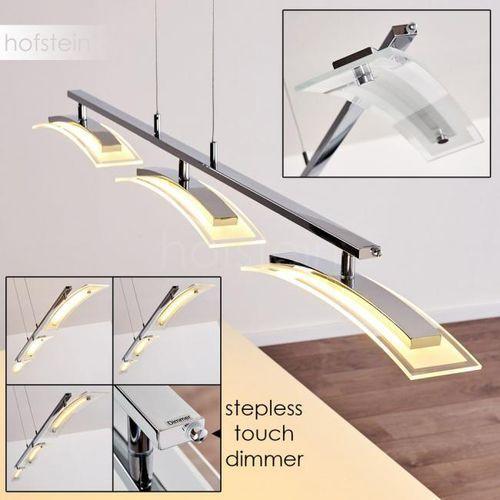 Tarumo lampa wisząca led chrom, 3-punktowe - nowoczesny/design - obszar wewnętrzny - tarumo - czas dostawy: od 3-6 dni roboczych marki Hofstein