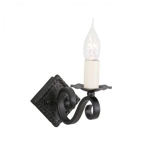 Elstead Rectory kinkiet ry1a black 11cm czarny