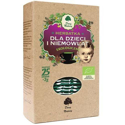 Herbatka dla dzieci i niemowląt (25 x 2 g) bio herbata dary natury marki Dary natury - herbatki bio